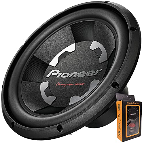 """Pioneer TS-A300D4 12"""" Dual 4 Ohms Voice Coil Subwoofer - 1500 Watts (1 Subwoofer), TS-A300D4+Magnet"""