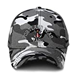 City Camo Baseball Cap Anchor Portland Head Lighthouse Me Embroidery Acrylic Hunting Dad Hats for Men & Women Strap Closure City Camo