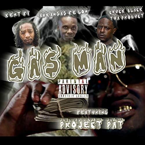 Chuck Black Tha Product, Kent Fi & Arkansas Fe'lon feat. プロジェクト・パット