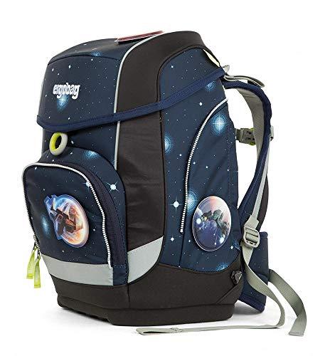 Preisvergleich Produktbild Ergobag cubo KoBärnikus Galaxy,  ergonomischer Schulrucksack,  Set 5-teilig,  19 Liter,  1.100 g,  blau