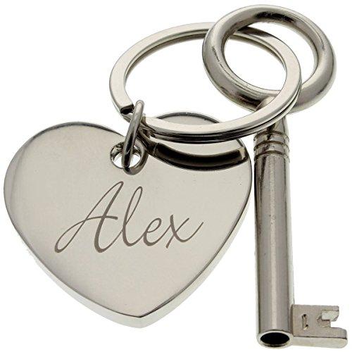 Der Schlüssel zu Meinem Herzen mit Gravur- das persönliche Geschenk zum Valentinstag