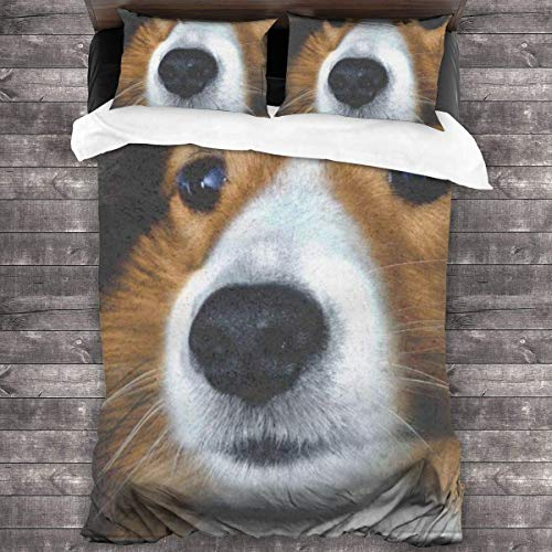 eneric Soft and Comfortable Three-Piece Bedding for All Seasons 86'' x70 Shepherd Dog