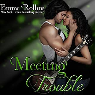Meeting Trouble audiobook cover art