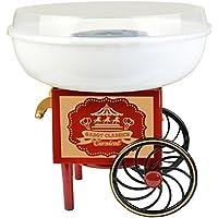 Gadgy ® Maquina de Algodón de Azúcar   Cotton Candy Machine para Casa   USA Azúcar Normal o Caramelos Duros   Estilo Retro para Fiesta y Ocasiones Especiales   Igual Que la Feria!