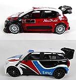 OPO 10 - Set of 2 Cars Rallye WRC 1/43 Compatible con Mini Cooper + Citroën C3