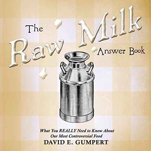 The Raw Milk Answer Book audiobook cover art