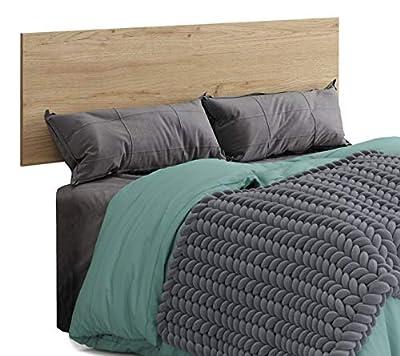 Bonito cabecero para tu habitación o dormitorio, apto para camas de 135 cm y 150 cm. Es perfecto para ambientes modernos y de estilo industrial. El cabecero Clim de 160 cm de ancho, es ideal para decorar la parte superior de tu cama y podrás combinar...