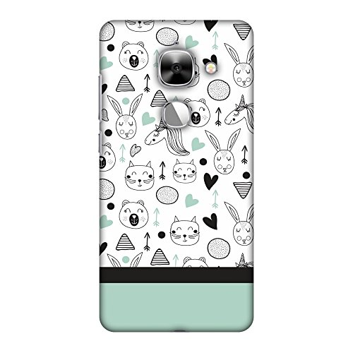 LeEco Le Max 2 Case, Premium Handcrafted Designer Hard Shell Snap On Case Shockproof Printed Back Cover for LeEco Le Max 2 - Unicorns