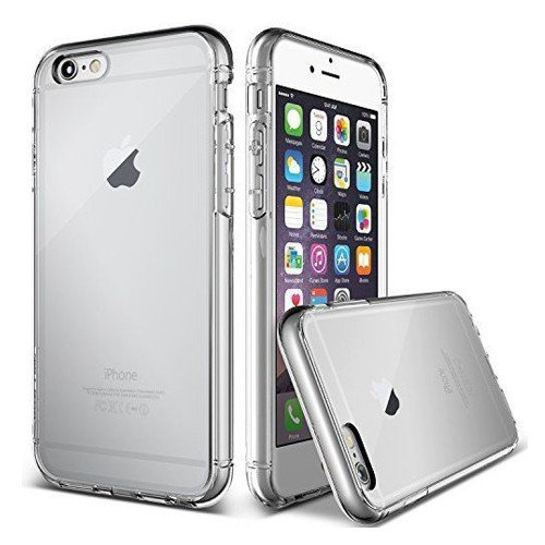 REY Funda Carcasa Gel Transparente para iPhone 5 y 5S Ultra Fina 0,33mm, Silicona TPU de Alta Resistencia y Flexibilidad