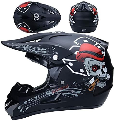Casco de motocicleta para bebé, motocross, cascos integrales, para niños,...