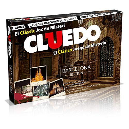 Winning Moves Cluedo Barcelona (82233), multicolor (ELEVEN FORCE