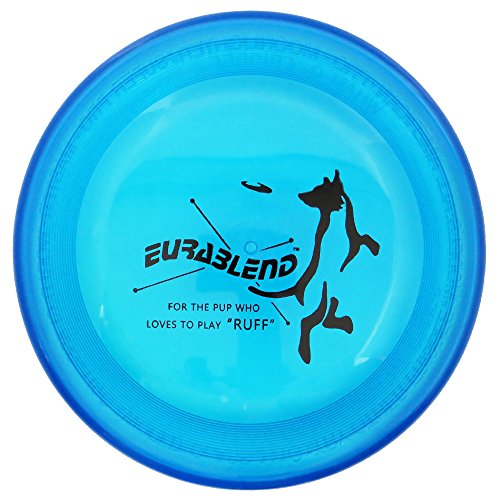 Wham-O Eurablend Fastback Frisbee High Durability K9 Dog Flying Disc - Blue