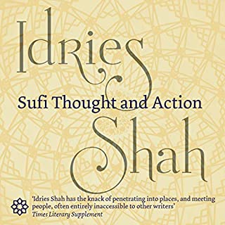 Sufi Thought and Action audiobook cover art