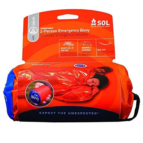 Sol - Bivvy di emergenza - 2 persone, Arancione