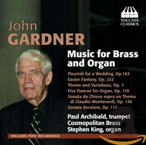Gardner Music for Brass and Organ