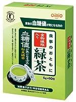 日清オイリオ トクホ 食事のおともに食物繊維入り緑茶 6g×60包 ×5セット