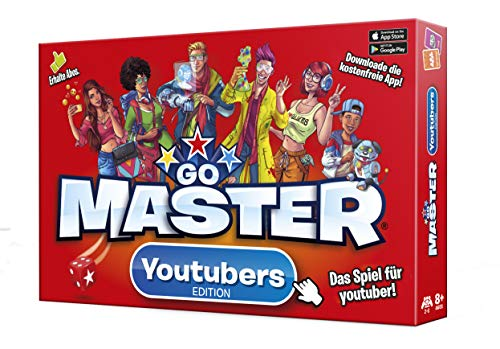 WOWY Games Master - Youtubers Edition Brettspiel, 1900010, Red