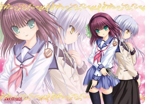 Character all-around rubber mat Angel Beats! Yuri & Angel (japan import)