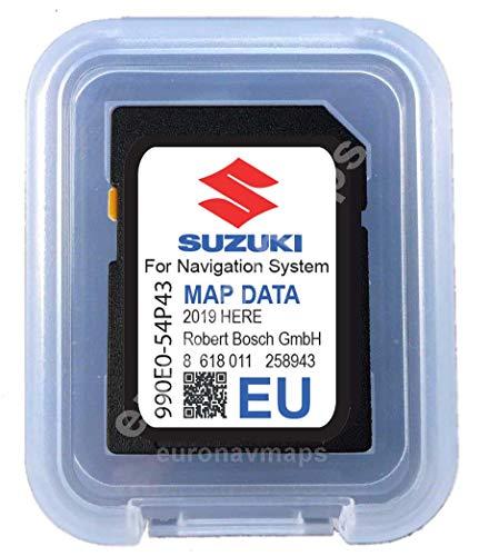 SD Card Suzuki SLDA Europe 2018-990E054P43000