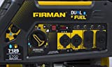 Photo #4: Firman Dual Fuel Generator H05751 7100/5700 Watt Electric Start Propane and Gas Generator