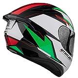 MT Helmets Targo Pro Sound C6 Italy - Casco de Moto Integral (M)