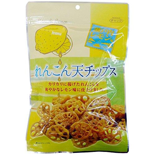 Die borse di loto chip radice Setouchi gusto limone 60gX10