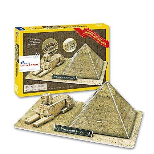 Puzzles 3d Esfinge