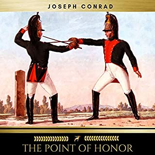 The Point of Honor audiobook cover art