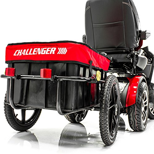 Best Deals! Challenger Mobility Scooter Trailer for Pride Mobility Scooters Heavy Duty Large Tires