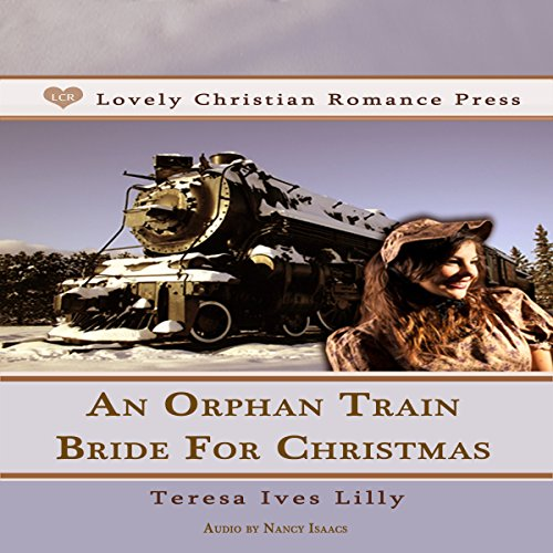 An Orphan Train Bride for Christmas audiobook cover art
