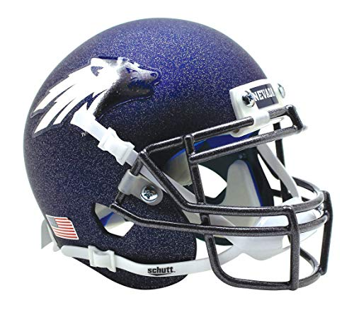 Schutt NCAA Nevada Wolfpack Mini Authentic XP Football Helmet, Matte 17 Alt. 5, Mini