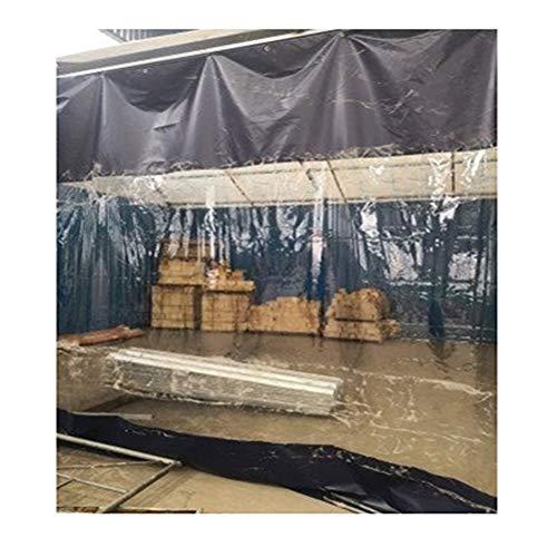 YJFENG Cortina del Panel Lateral De La Tienda, Pantalla De Partición Impermeable, Costura del Parabrisas De Lona, A Prueba De Viento Aislamiento Térmico, para Balcón, Pérgola, Garaje
