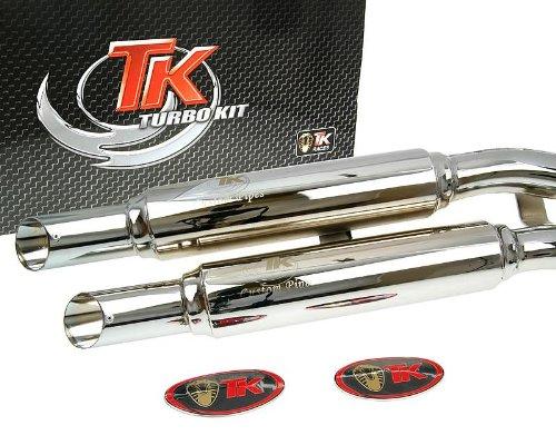 D'échappement Turbo Kit x de Road Custom pour Kymco Zing 125