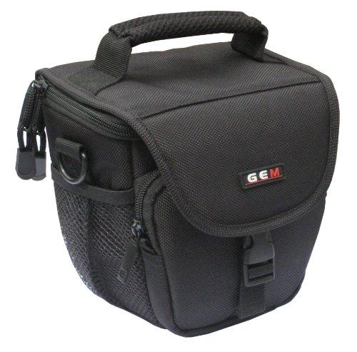 GEM N100178PLDMCFZ300FZ330G7GX8 estuche para cámara fotográfica Carcasa compacta Negro - Funda (Carcasa compacta, Panasonic, Lumix DMC-FZ300, Lumix DMC-FZ330, Lumix DMC-G7, Lumix DMC-GX8, Tirante para hombro, Negro)