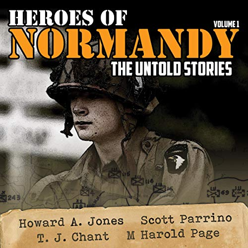 Heroes of Normandy audiobook cover art