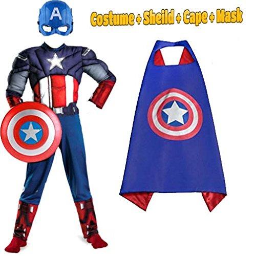 Captain Marvel Hero Blue Suit Superhero Fancy Dress Up Halloween Child Costume Order your captain marvel costumes from costume supercenter today. موسسه مالی بازرگانی پارسیان psbf