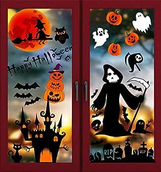 Best halloween window cling Reviews