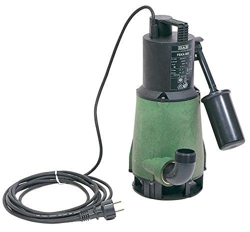 DAB FEKA 600M-A Tauchpumpe mit Schwimmer für Drainage von Abwasser zu Zuhause 0,55kW/0,75HP einphasig (103022214)