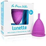 Lunette Menstruationstasse - Lila - Model 2 für normale oder starke Blutung – (EN...