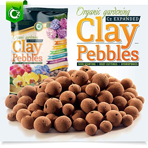Organic Expanded Clay Pebbles Grow Media - Orchids •...