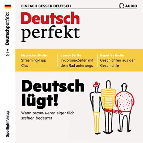 Deutsch perfekt Audio 7/2020 Titelbild
