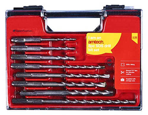 Amtech F0925 SDS Drill Set