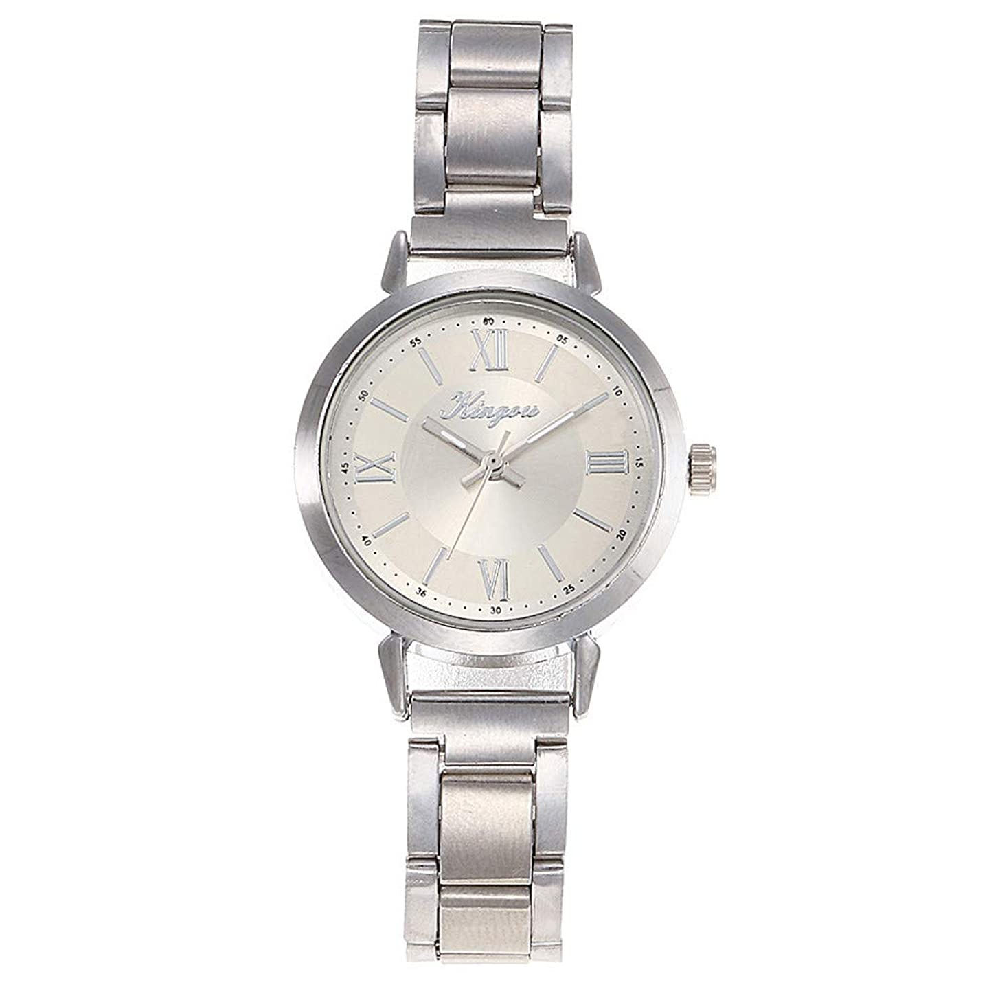 LUCAMORE Women Analog Watches with Stainless Steel Belt,Fashion Classic Dress Ladies Business Watches Gift