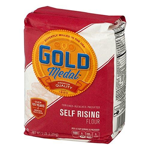 Gold Medal, Unbleached Self Rising Flour, 5 lb