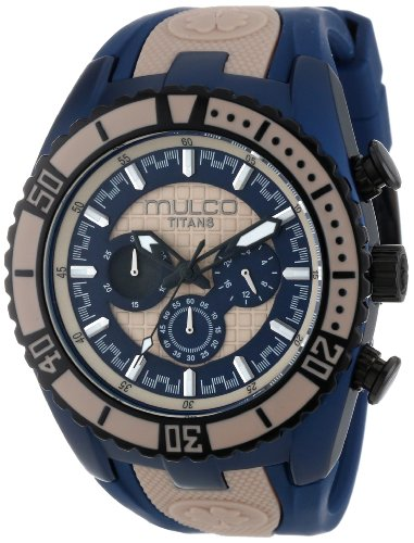 MULCO Unisex MW5-1836-114 Analog Chronograph Swiss Watch