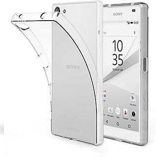 EasyAcc Sony Xperia Z5 Compact TPUクリアケース 超スリム 耐衝撃 指紋防止 散熱加工 レンズ保護 高機能 黄変防止 超薄型 0.8mm 超軽量 ソフト 透明カバー 4.6インチ専用ケース