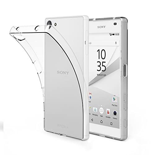bbbbb612b3 EasyAcc Sony Xperia Z5 Compact TPUクリアケース 超スリム 耐衝撃 指紋防止 散熱加工