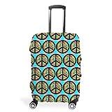 Funda protectora para maleta de viaje, elástica, 4 tamaños, blanco (Blanco) - Twelve constellations-XLXT