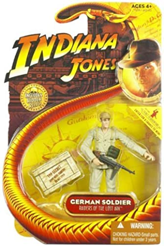 GERMAN SOLDIER from Raiders of the Lost Ark 2008 Action Figure & Accessories (Includes Indiana Jones Hidden Relic) by Indiana Jones