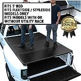 DNA Motoring TTC-HARD-045 Truck Bed Top Hard Solid Tri-Fold Tonneau Cover